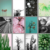 PHOTO ART PRINTS: Palm Trees, Peonies, Cactus, Cow, Scandi Style Home Decor