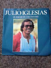 """Julio Iglesias, Quiereme Mucho / 33 Anos, a1939 - 7"""" VINYL"""
