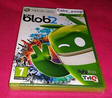 DE BLOB 2 XBOX 360 NEUF SOUS BLISTER FRANCAIS