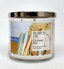 1 Bath & Body Works SURF'S UP - COCONUT BAY Large 3-Wick Filled Candle