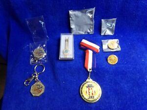 Usa Taekwondo Jimmy Kim Participation Key Chain Tie Clip Pin Lot of 6 items