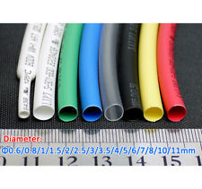 Dia 06 11mm Heat Shrink 21 Shrinkable Heatshrink Tube Sleeving Wrap Wire Cable
