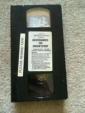 SilverHawks - The Origin Story (VHS, 1995) - No Cover