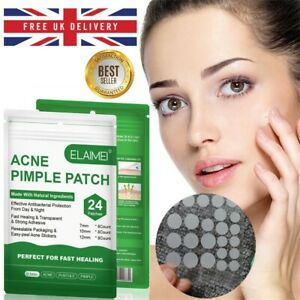 72 Acne Stickers Patches Plasters Treatment Dots for Spots & Pimples
