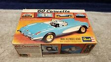 Vintage 1976 Revell '60 Corvette Convertibl Plastic Model Kit 1/25 Scale Boxed
