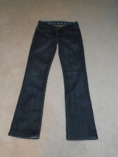 EARNEST SEWN VAL LOW RISE KEATON 232 SLIGHT BOOTCUT STRETCH JEANS SIZE 25