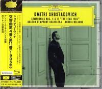 ANDRIS NELSONS-SHOSTAKOVICH: SYMPHONIES NOS. 4 & 11...-JAPAN 2 SHM-CD I19