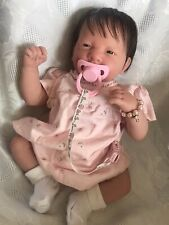 BEAUTIFUL REBORN BERENGUER BABY DOLL ROOTED HAIR GIRL