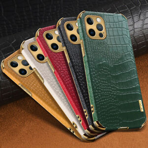 Case For iPhone 11 12 Pro Max X 8 7 6s Plus Shockproof Leather Protective Cover