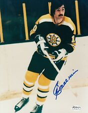 Carol Vadnais Boston Bruins autographed signed 8x10 Photograph (JSA) DECEASED
