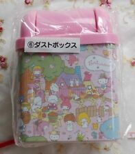 Sanrio Characters Trash can &Dust box Dust bin Not sold limited Made in Japan
