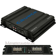 Crunch 500 WATT 2-Kanal Verstärker GPX500.2 Endstufe brückbar PKW AUTO KFZ