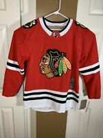 Mens Adidas Climalite Chicago Blackhawks Red AUTHENTIC NHL Hockey Jersey Sz. 50