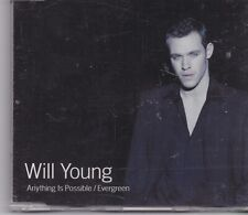 Will Young-Anything Is Possible cd maxi single 2 tracks
