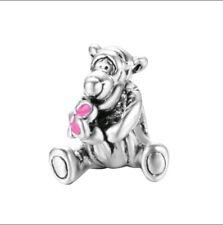 SALE New Disney Winnie Pooh Tigger Charms Bracelet Silver plated Gift Pandor
