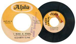Philippines ELIZABETH CLYNE I Was A Fool 45 rpm PROMO Record