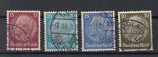 Deutsches Reich Briefmarken 1933 Hindenburg Mi.Nr.520 bis 523