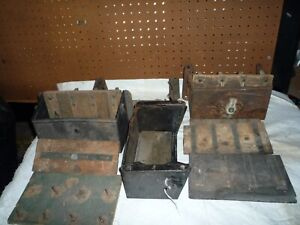 Ford Model  T coil boxes and parts