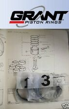 TRIUMPH TR6 TR5 TR250 2.5 2500 PISTON RINGS SET Std (Made in USA by GRANT)