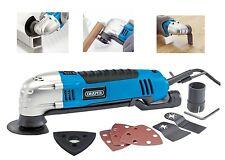 DRAPER 300W Multi Funzione Oscillante Levigatrice cutter raschietto Multi Tool 33666