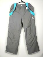 Gerry Girl's Grey Snow Pant with Removable Suspenders Size L(14/16)