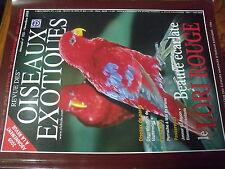 ?µ Revue des Oiseaux Exotiques n°335 Lori Rouge Tourterelles Diamant Mandarin