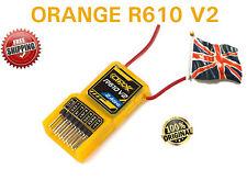 ORANGE RX R610 v2 DSM2 6CH Ricevitore 2.4GHz + CPPM Drone Spektrum R615x R410