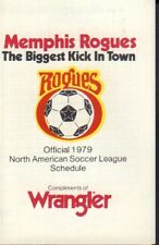 1979 Memphis Rogues Soccer Schedule 101817jh