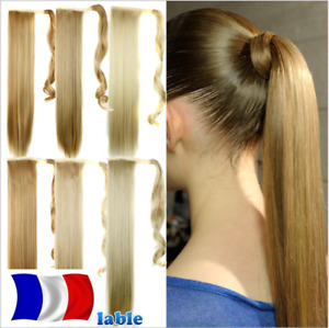 Tail Cheval Hearpiece Hair Extensions Wrap Around Ponytail Smooth