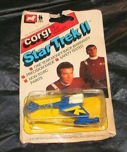 1982 Corgi  Star Trek II Die Cast #149 Klingon Warship MIP