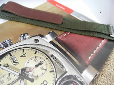 Sector Compass Green With Brown Canvas Strap Made For The Compas Collection