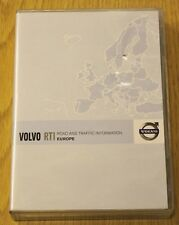 GENUINE VOLVO RTI SAT NAV NAVIGATION DISC 3 DVD SET EUROPE 2010 MAPS