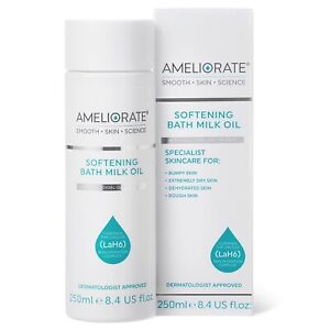 Ameliorate Softening Bath Milk Oil Colloidal Oat Therapy LaH6 Hydration 250ml