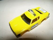 Vintage Aurora AFX Yello Matador Taxi Slot Car Body NOS N/MINT COMBINED SHIPPING