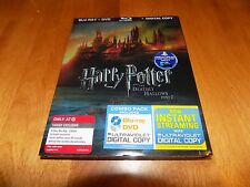HARRY POTTER AND THE DEATHLY HALLOWS PART 2 Blu Ray DVD Digital Combo SET NEW