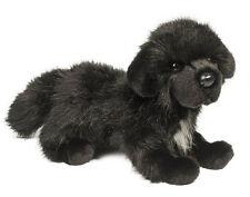 "Douglas Cuddle Toy Stuffed Soft Plush Animal Newfoundland Black Dog Puppy 16"""