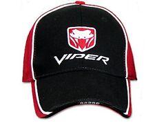 Dodge Viper Hat Cap Red  R/T10 GTS ACR SRT10