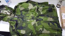Original Swedish M90 camo waterproof parka ,military goretex 180/75