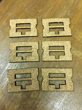 Set of 90 Cork Gaskets for Ampico/Amphion Player Piano Unit Valves, New