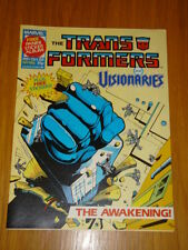 TRANSFORMERS BRITISH WEEKLY #186 MARVEL UK COMIC 1988