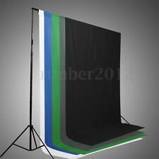 6x9ft 1.8x2.7m Screen Muslin Backdrop Photo Studio Photography Background 5Color