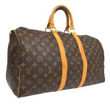 LOUIS VUITTON KEEPALL 45 TRAVEL HAND BAG PURSE MONOGRAM er M41428 A54261