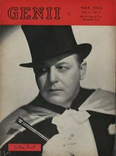 May 1944 Genii Magic Magazine - G. Ray Terrell - Great Condition