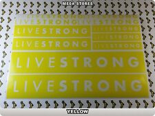 LIVESTRONG Stickers Decals  Bicycles Bikes Cycles Frames Forks Mountain BMX 56EG