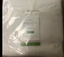 Pottery Barn White Pb Classic 400-Thread-Count Organic Cotton Sheet Set, Full