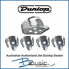 Jim Dunlop Nickel Silver Thumb and Finger Picks set - Guitar, Resonator, Banjo