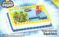 Decopac Marvel Super Hero Squad Cake Topper Super Hero Decoset 31414 Vhtf