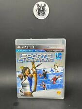 Sports Champion (Sony PlayStation 3, 2012) Tested and Cleaned Not For Resale