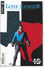 Lone Ranger #4 A John Cassaday 1st Print NM Dynamite 2018