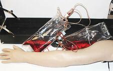 Laerdal Male Arm Hand Phlebotomy Simulator Trainer Manikin Skin Withcase Creepy